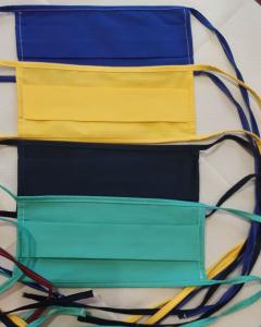Mascherina cotone autoclavabile conf. 10 pezzi - lacci