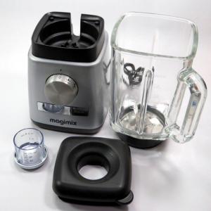 Frullatore con bicchiere in vetro Magimix