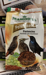 PATE' INSECT 400gr