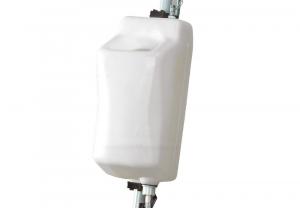 SERBATOIO 9 litri per MONOSPAZZOLE da 13 pollici Codice Ghibli 00-230 X SYNCLEAN - WIRBEL - GHIBLI stelo manico ROTONDO