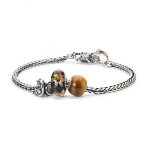 Beads Trollbeads, Occhio di Tigre Rotondo