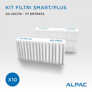Kit ricambio filtri Smart - CONF. PROMO x10 - per Alpac VMC Smart e Plus, Climapac VMC Smart e Plus