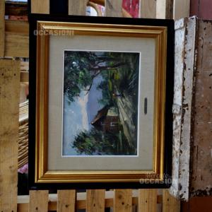 Quadro Dipinto 59*49cm Autore G. De Lillis