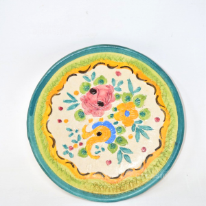 Flat Decoration Wall Flowers Painted 23cm
