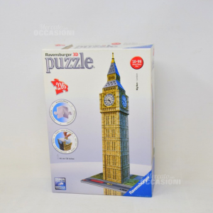 Game Puzzle 3d Ravensburger Big Beng London