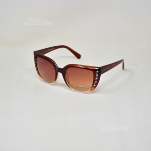 Sunglasses Richmond Jr74602ru Brown Shiny With Glitter Lens Brown