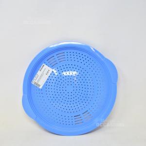 Coperchio Azzurro Tupperware Per Scolare Acqua