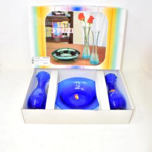 Object Set 2 Jars + Glass Ashtray