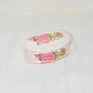 Porta Gioie Ceramica Tiffany Boutique Made In Italy