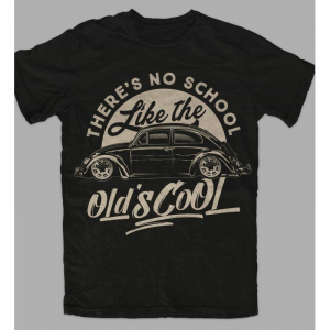 T-Shirt OLD's COOL for woman - Nera