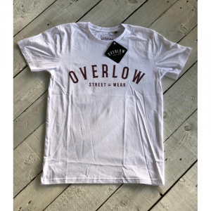 T-Shirt OVERLOW STREET WEAR for man - Bianca