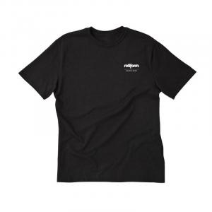 T-Shirt ROTIFORM LOGO for man - Nera e Bianca