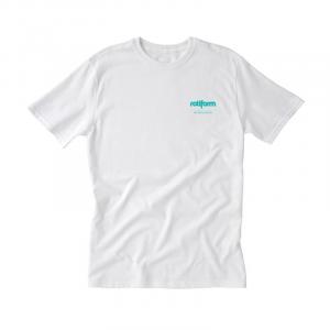 T-Shirt ROTIFORM LOGO for man - Bianca e Azzurra