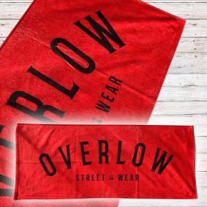 Gym Towel Overlow OVERLOW - Rosso