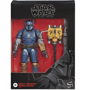 Star Wars: Black Series The Mandalorian HEAVY INFANTRY MANDALORIAN by Hasbro