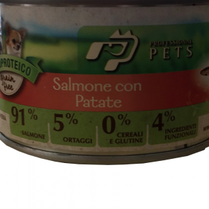 DISUGUAL - UMIDO PROFESSIONAL PETS SALMONE CON PATATE 150 GR