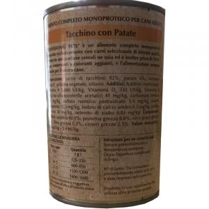 DISUGUAL - PROFESSIONAL PETS UMIDO TACCHINO E PATATE 400 GR