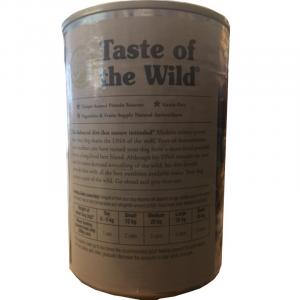 TASTE OF THE WILD - WETLANDS CANINE FORMULA 395 GR