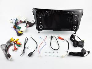 ANDROID 10 autoradio 2 DIN navigatore per Nissan Qashqai Nissan X-Trail Rogue 2014-2018 con telecamere 360° e navigatore di serie, GPS DVD USB SD WI-FI Bluetooth Mirrorlink