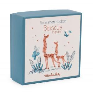 Doudou Giraffa di Moulin Roty in scatola
