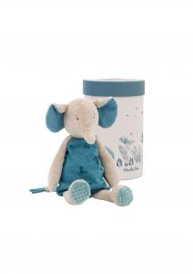 Elefante Bergamote di Moulin Roty in scatola regalo