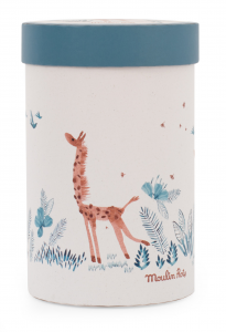 Giraffa Bibiscus di Moulin Roty in scatola regalo