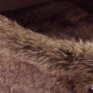Cuccia culla pelliccia
