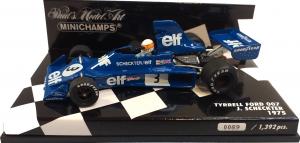 Tyrrell Ford 007 1975 Jody Scheckter 1/43