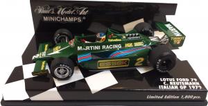Lotus Ford 79 C. Reutemann Italian Gp 1979 1/43