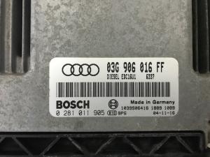 Centralina Motore Audi A3 2.0 140cv TDI Codice 03G906016FF