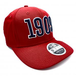 PRE-ORDER CAP NEW ERA 1909 ROSSO