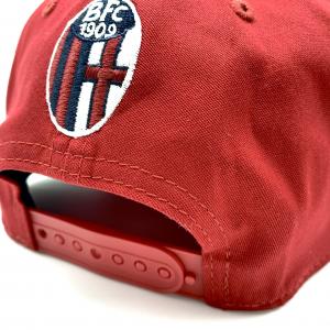 CAP NEW ERA 1909 ROSSO Bologna Fc
