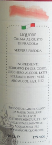 Crema alla Fragola - 50cl