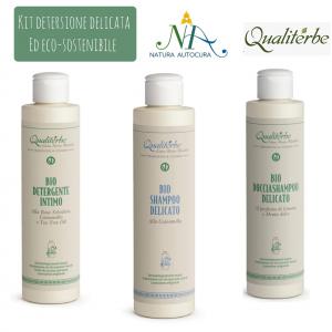 Kit Detersione Delicata ed Eco Sostenibile -20% con codice: naturautocura