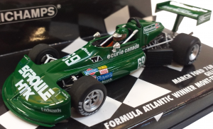 March Ford 76B Cosworth Gilles Villeneuve Formule Atlantic Winner Mont Tremblant 1/43