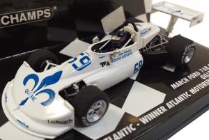 March Ford 76B Cosworth Gilles Villeneuve Winner Atlantic Motorsport Park 1976 1/43