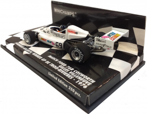 March Ford 76B Cosworth Gilles Villeneuve Winner Trois Rivieres 1/43