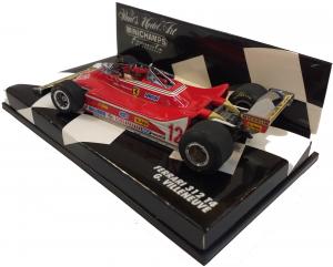 Ferrari 312 T4 1979 Gilles Villeneuve 1/43