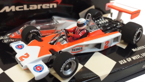 McLaren Ford M23 USA Gp West 19767 J. Mass 1/43