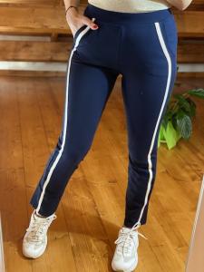 Pantaloni  Chic Janira con banda e zip Taglia S e M