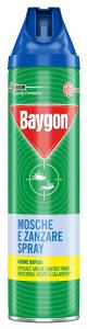 BAYGON Mosche/zanz.spray 400 ml. - Insetticidi e repellenti