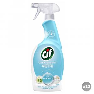 Set 12 CIF Vetri TRIGGER 750 Ml.  Detergenti casa