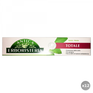 Set 12 ANTICA ERBORISTERIA Dentifricio 75 ml Totale Salvia e Menta Cura e Igiene Dentale