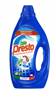 BIO PRESTO Detersivo Lavatrice Liquido 19 Misurini Classico Per bucato