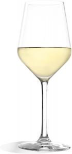 Set 6 calici in vetro cristallo per vino bianco Revolution, 365 ml