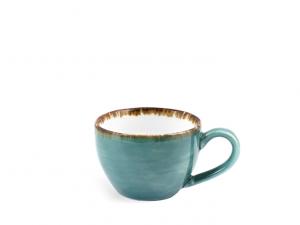 Tazza caffè jumbo in porcellana colorata