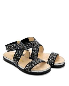 Sandali bassi con strass - CHIARINI BOLOGNA