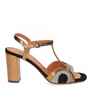 Chie Mihara sandalo Banela pelle bronzo-2