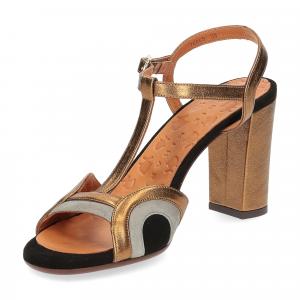 Chie Mihara sandalo Banela pelle bronzo-4