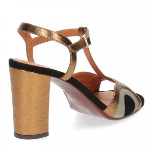 Chie Mihara sandalo Banela pelle bronzo-5